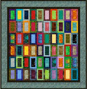 "Standing Tall - 5"" Charm Quilt Pattern"