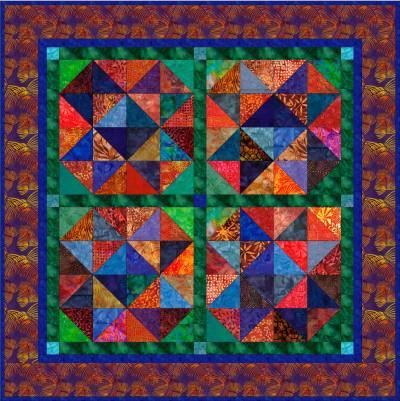 "Jewels - 5"" Charm Quilt Pattern"