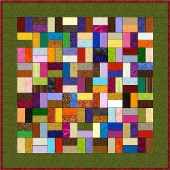 "Strips - 5"" Charm Quilt Pattern"