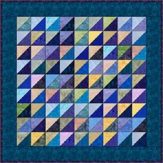 "Half Squares - 5"" Charm Quilt Pattern"