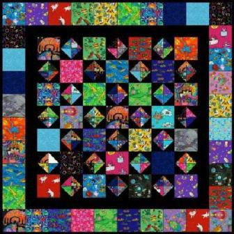 "Novelty Fun - 5"" Charm Quilt Pattern"