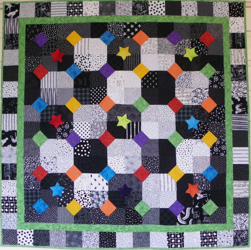 Big Block Big Quilt - Icing on Top using 5 Inch Squares