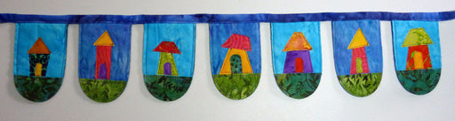 Wonky House Bunting