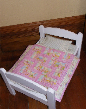 Mini Rail Fence  - Quilt Kit - pretty fabrics