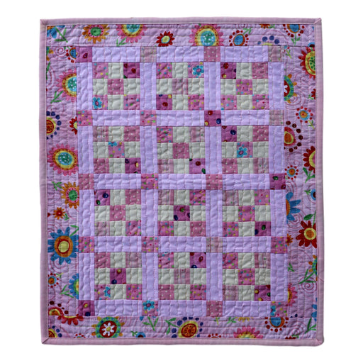 Mini 9-Patch - Manageable Mini Quilt Pattern