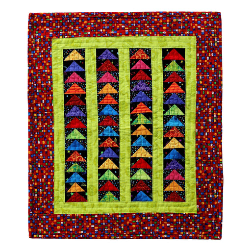 Mini Flying Geese - Manageable Mini Quilt Pattern