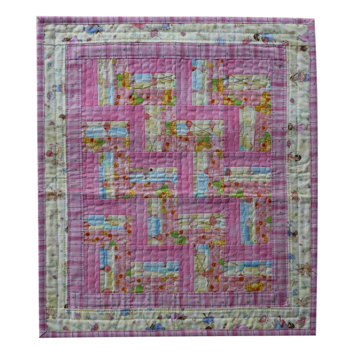 Mini Rail Fence - Manageable Mini Quilt Pattern