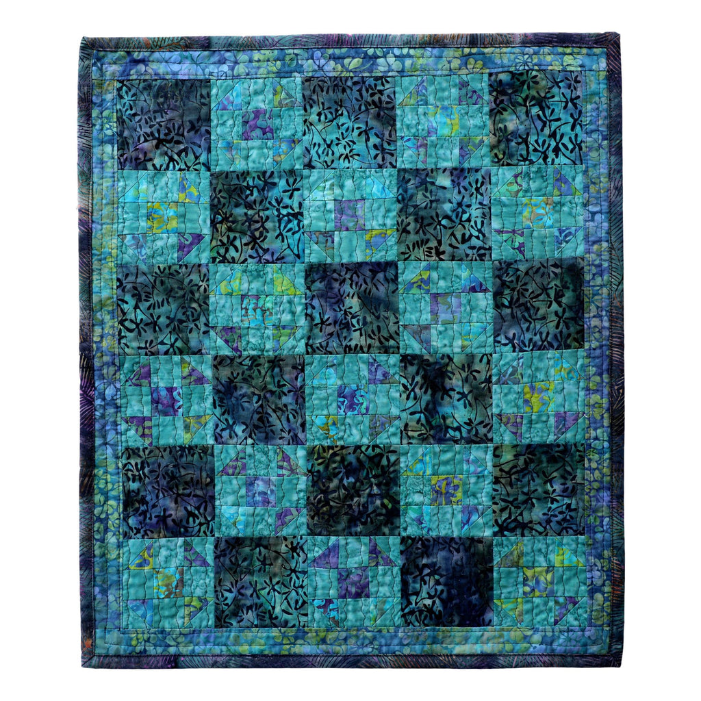 Mini Shoo-Fly - Manageable Mini Quilt Pattern