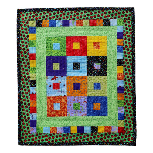 Mini Square in the Middle - Manageable Mini Quilt Pattern