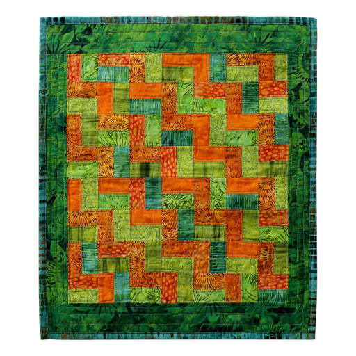 Mini Strips - Manageable Mini Quilt Pattern