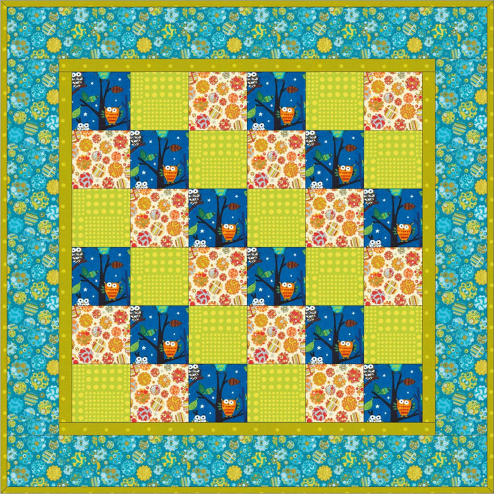 That Three Fat Quarter Quilt