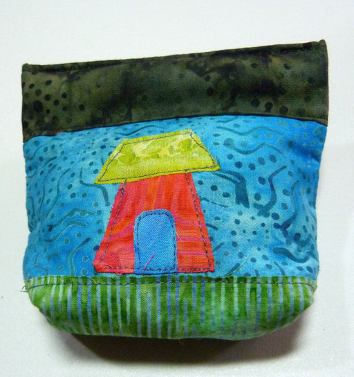 Wonky House Snap Bag