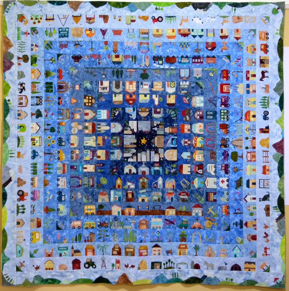 Block of the Day 2016 - That Town and Country Quilt