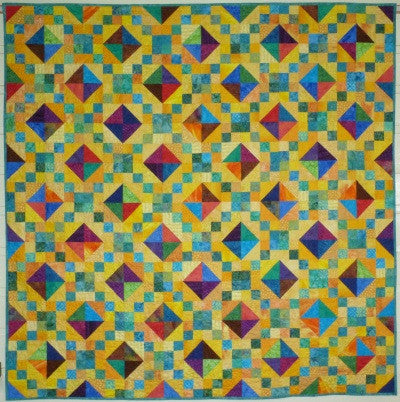 Big Block Big Quilt - Jewels using 5 Inch Squares