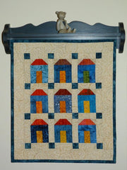 Mini Houses - Manageable Mini Quilt Pattern