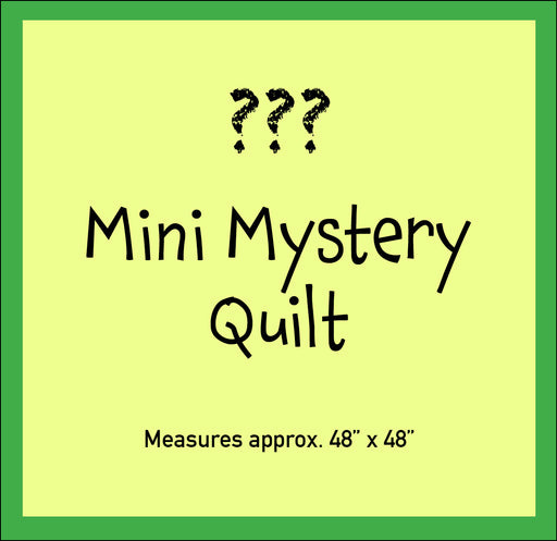Mini Mystery Quilt - 2020 Tasty Treats - October
