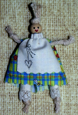 Penny Cotton-Mop Doll