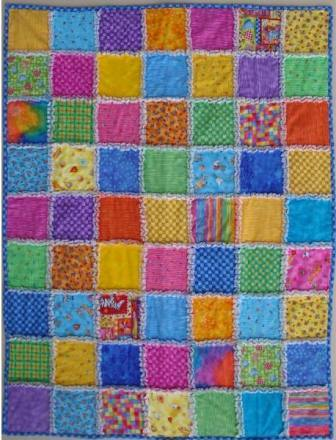 Raggy Quilt Pattern