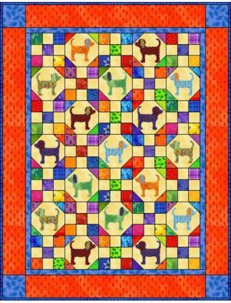 Puppies Quilt Pattern