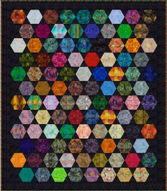 Those Charming Hexagons Quilt Pattern