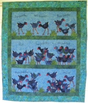 One Pukeko Quilt Pattern