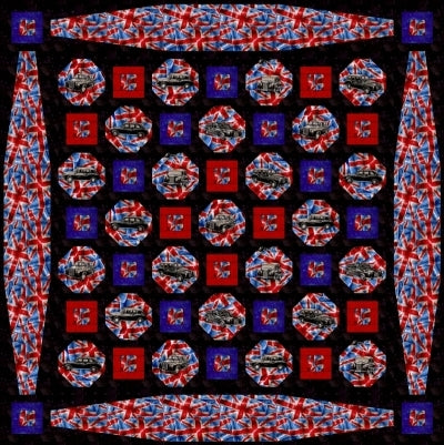 Cabs United Quilt Pattern
