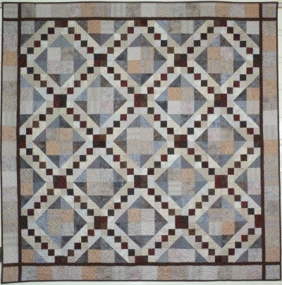 Big Block Big Quilt - Rocky Road using 5 Inch Squares