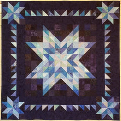 Big Block Big Quilt - Stars using 5 Inch Squares