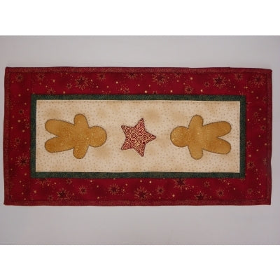 Gingerbread Men - Table Runner Pattern