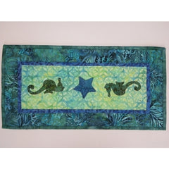 Seahorses - Table Runner Pattern