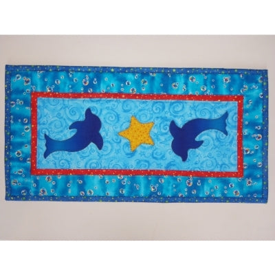 Dolphins - Table Runner Pattern