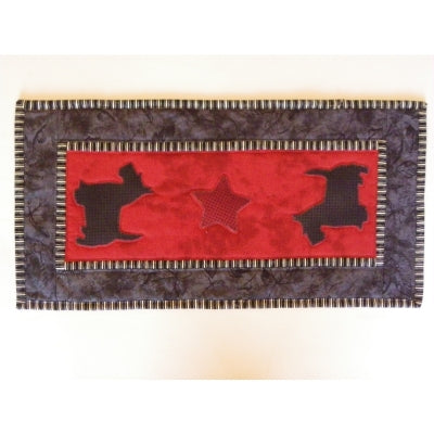 Dogs - Table Runner Pattern