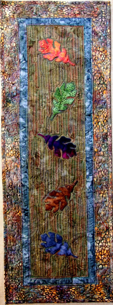 Tumbling Leaves Tablerunner