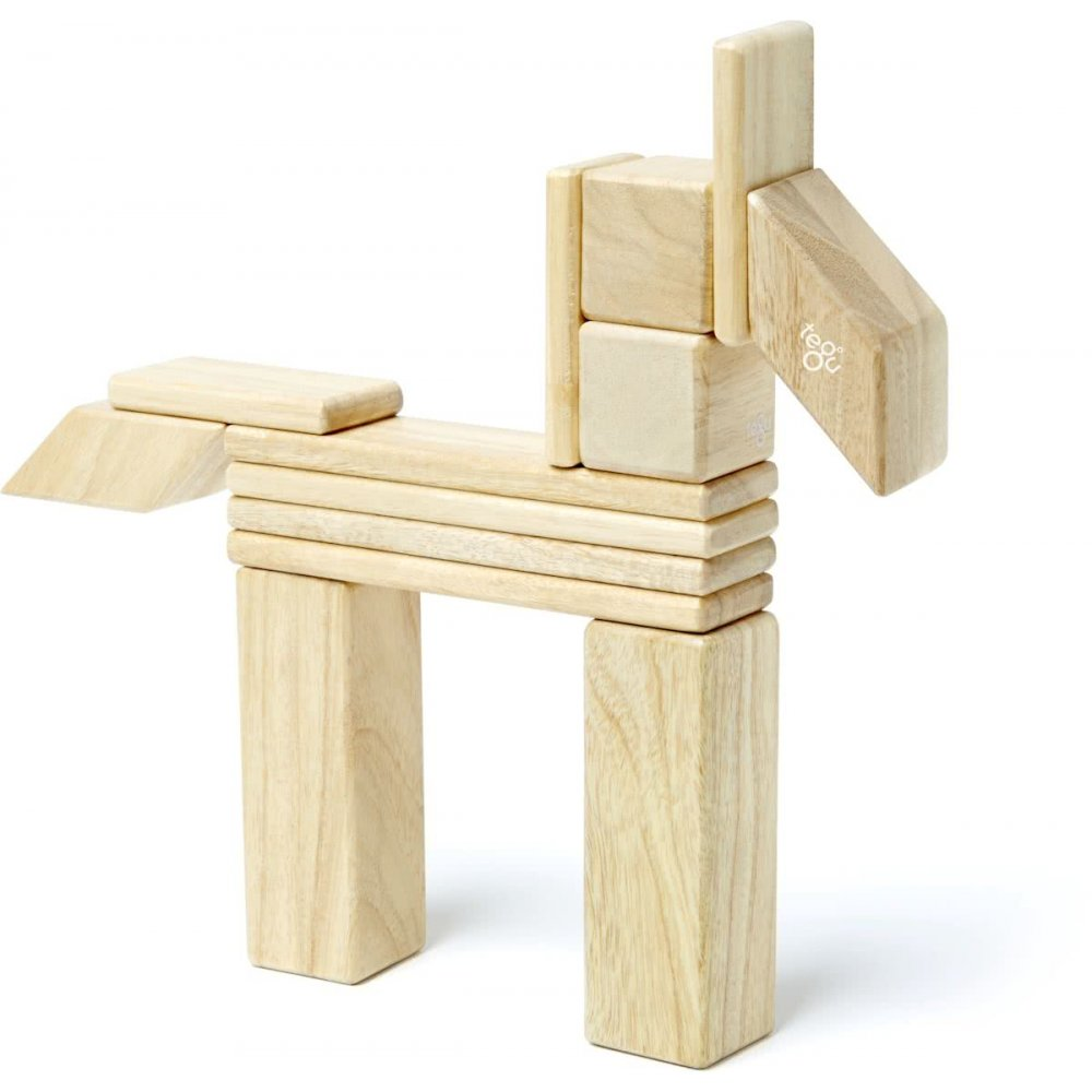 Tegu 14 piece set Natural vorm