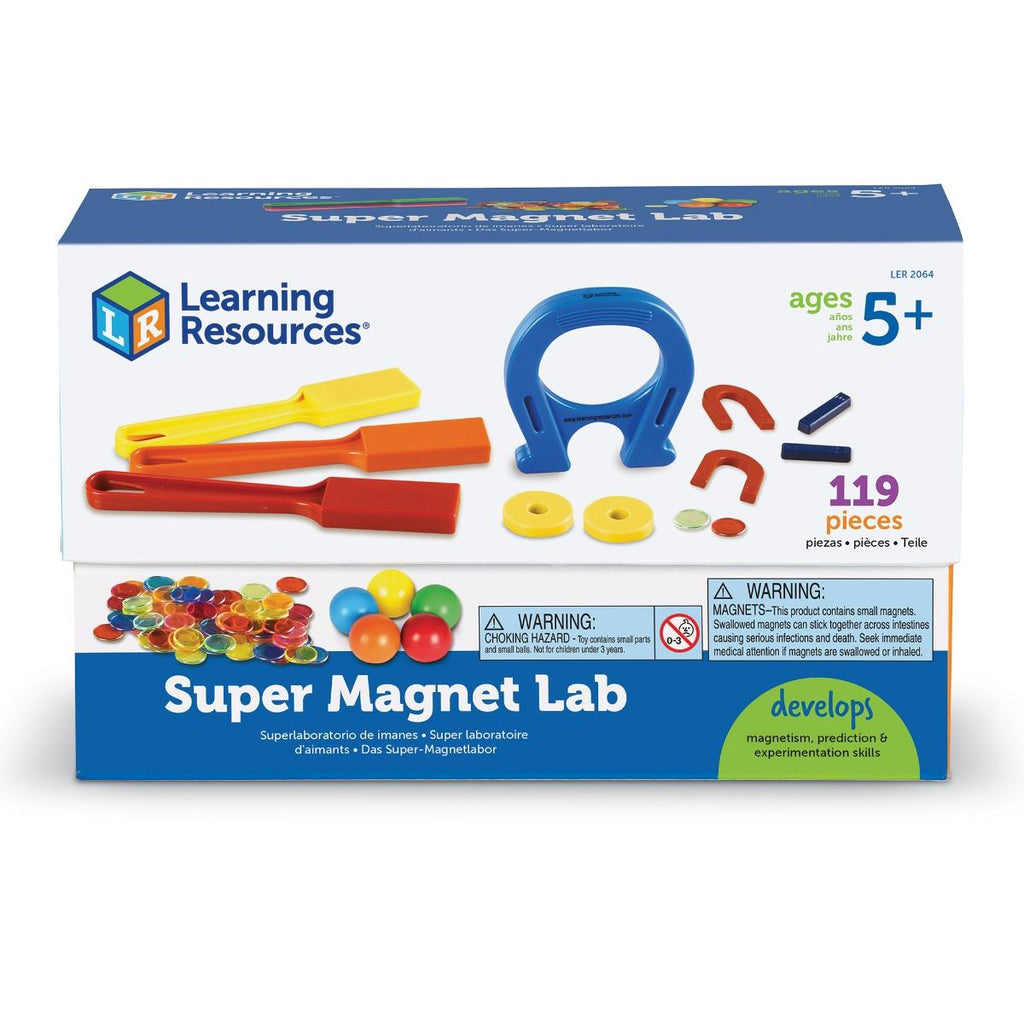 Learning Resources wetenschapsset magneten