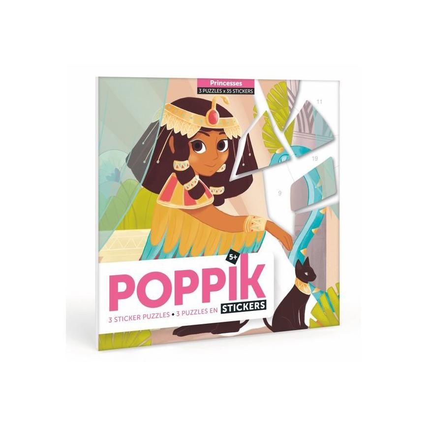 Poppik stickerset Prinses