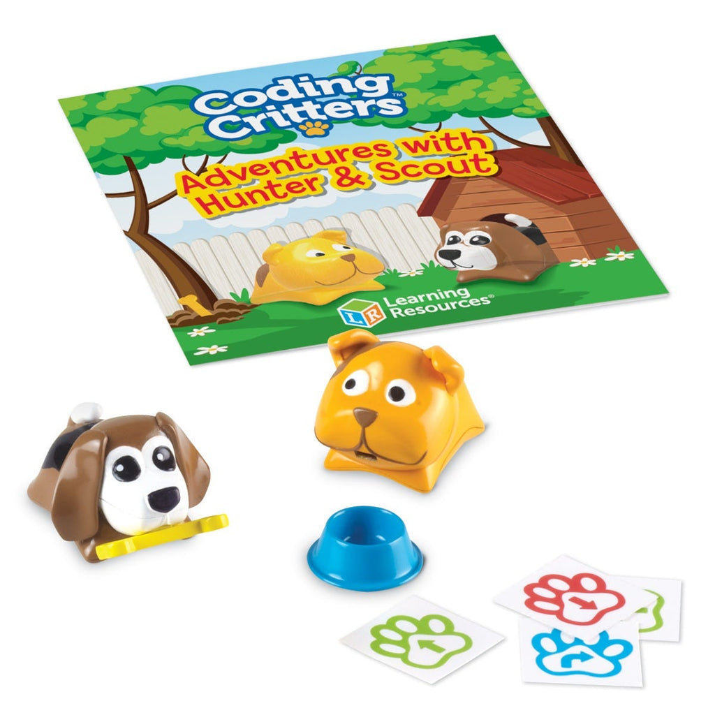 Learning Resources Coding Critters Pair-a-Pets Avonturen met Hunter & Scout