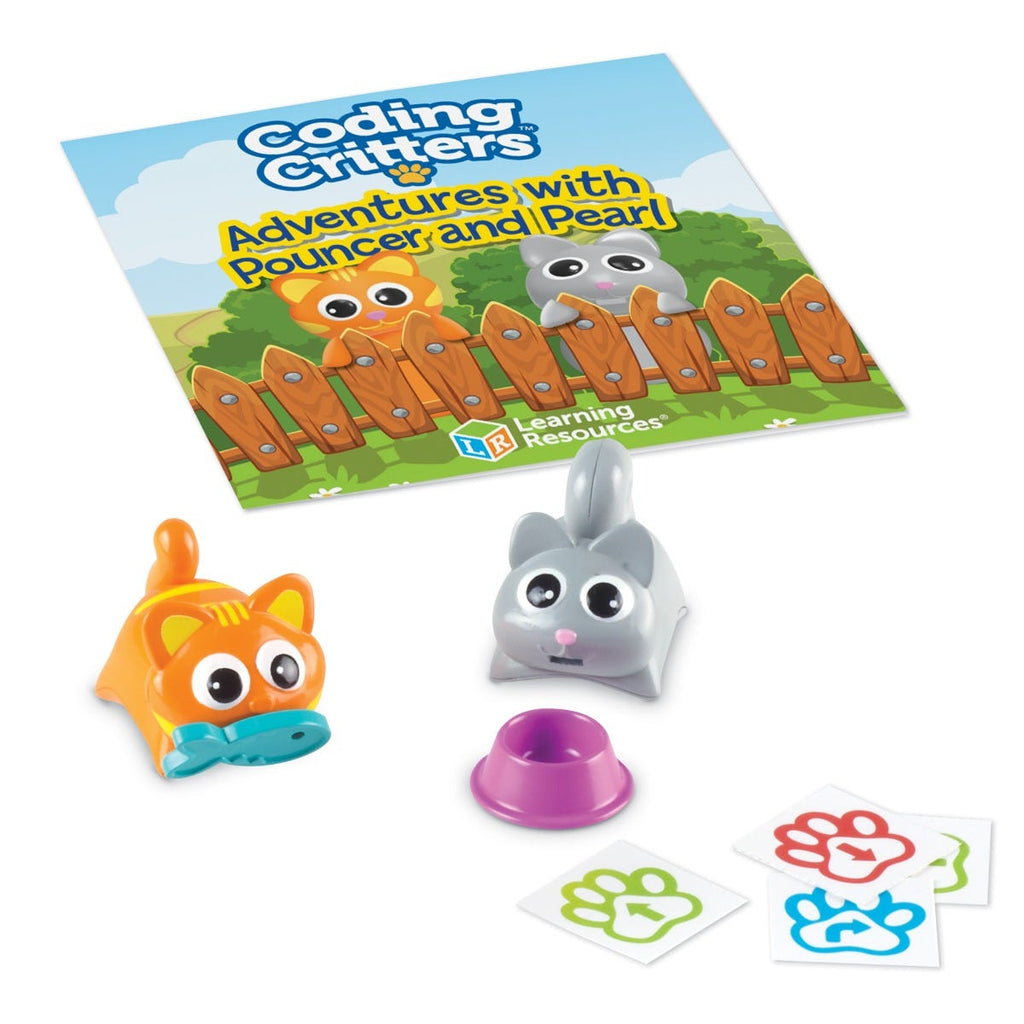 Learning Resources Coding Critters Pair-a-Pets Avonturen met Pouncer & Pearl
