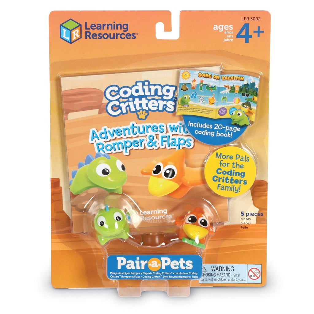 Learning Resources Coding Critters Avonturen met Romper & Flaps