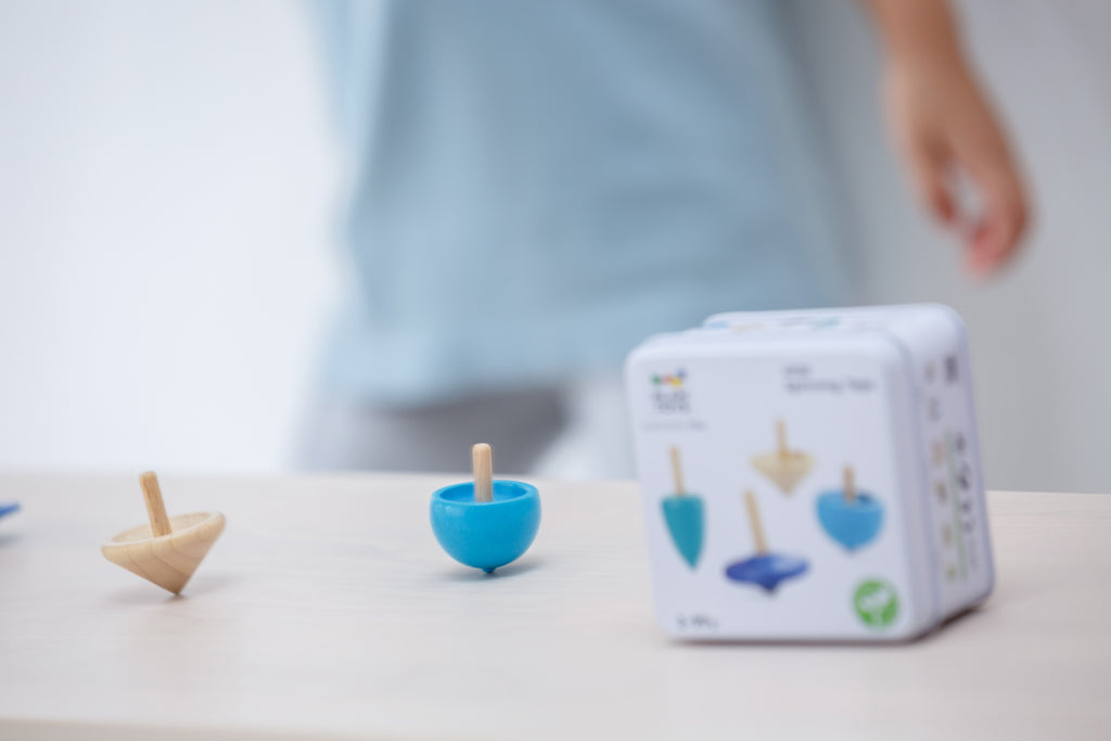PlanToys PlanMini spinning tops