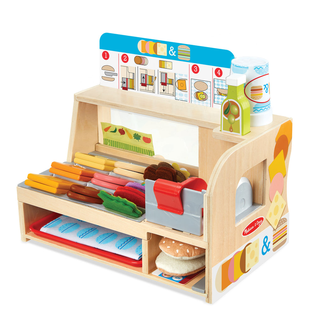 Melissa & Doug sandwich bar