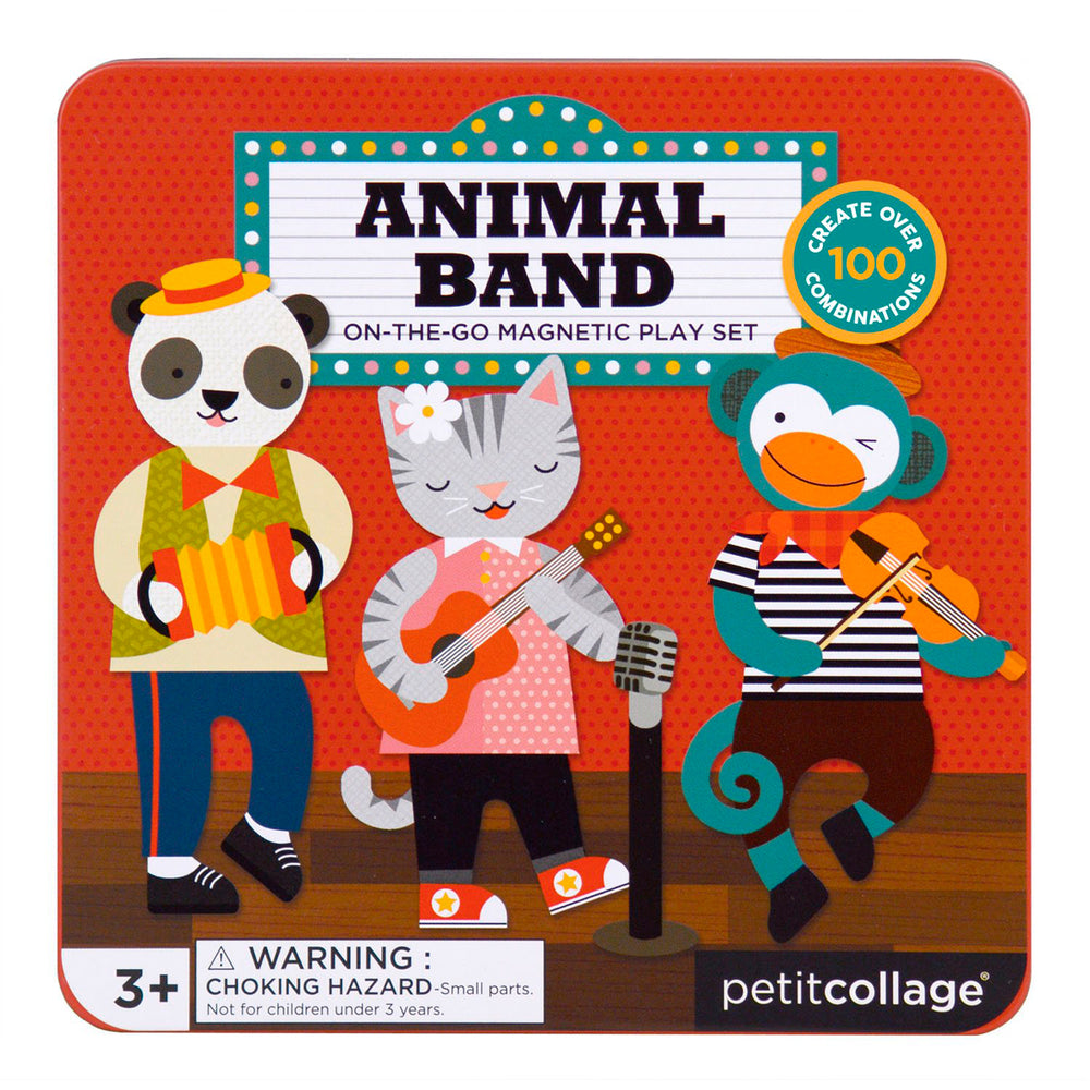 Petit Collage magnetisch spel animal band