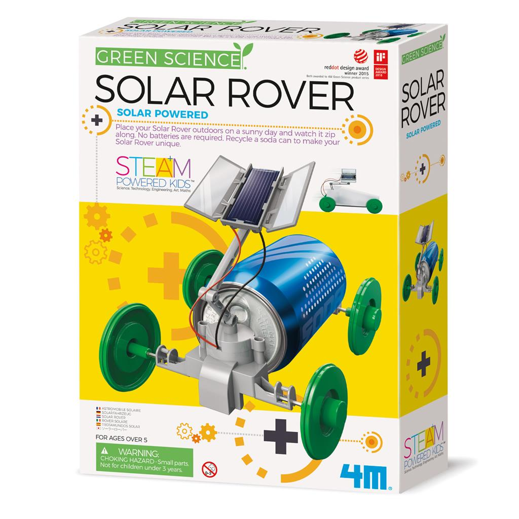 4M Green Science solar rover