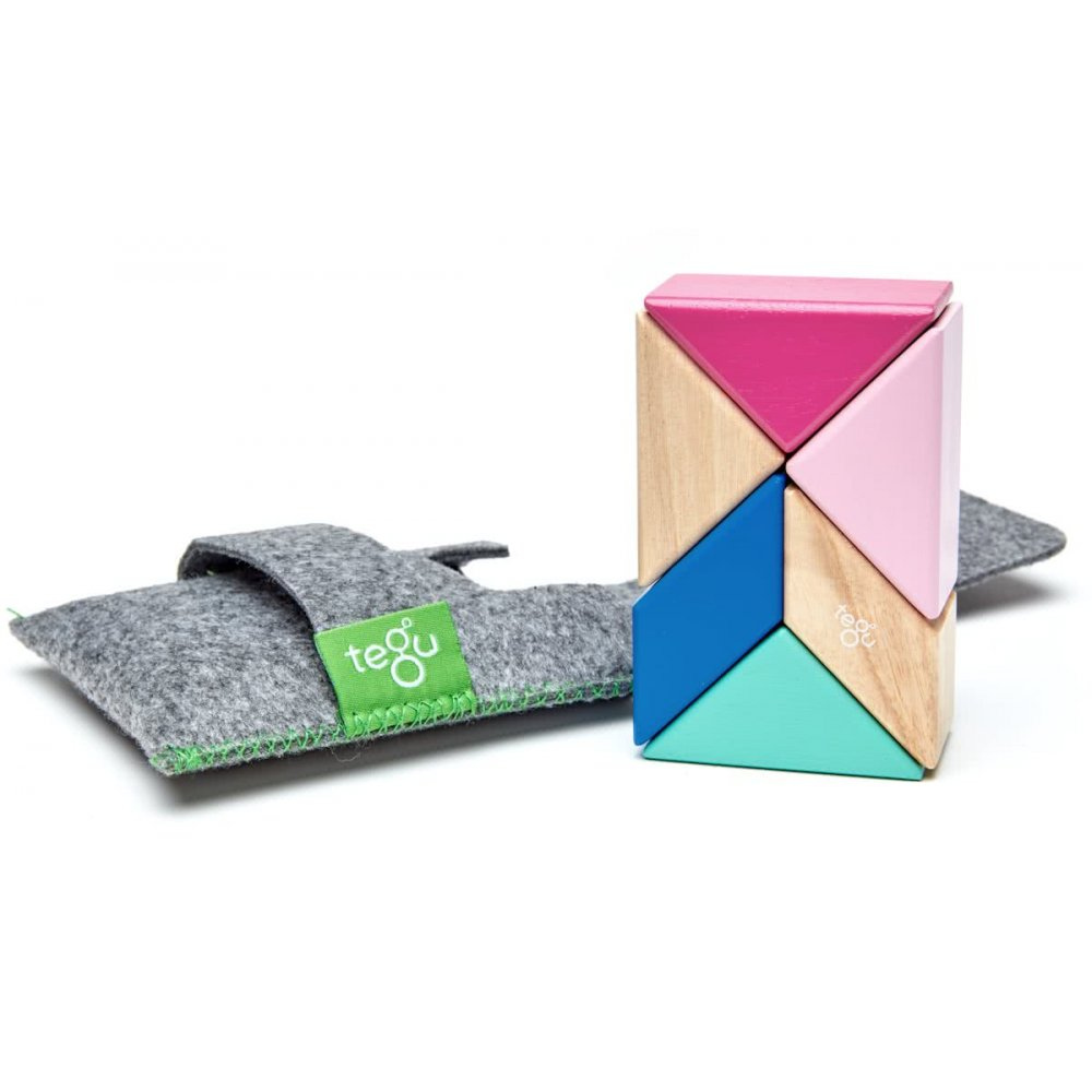 Tegu Pocket Pouch 6 piece blossom