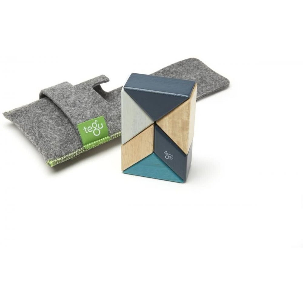 Tegu Pocket Pouch 6 piece blues