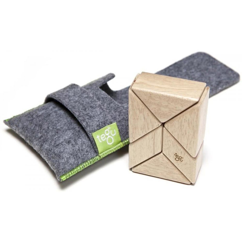 Tegu Pocket Pouch 6 piece natural