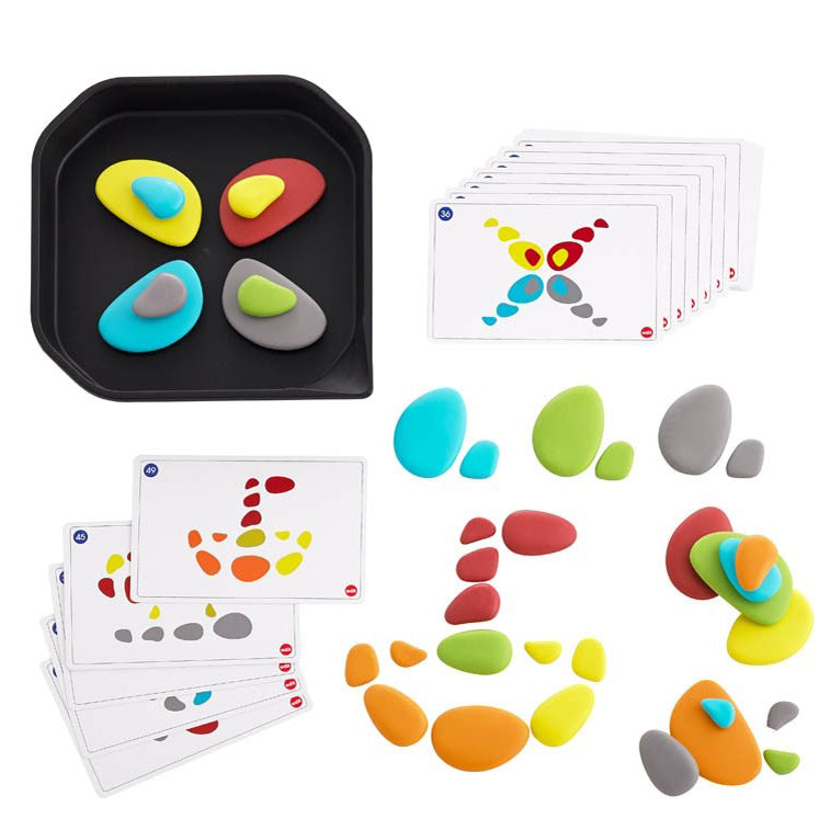 EDX Funplay rainbow pebbles