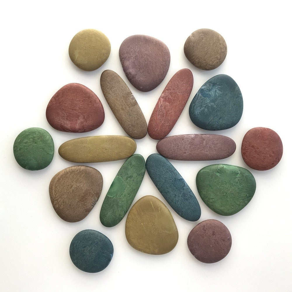 EDX eco junior rainbow pebbles