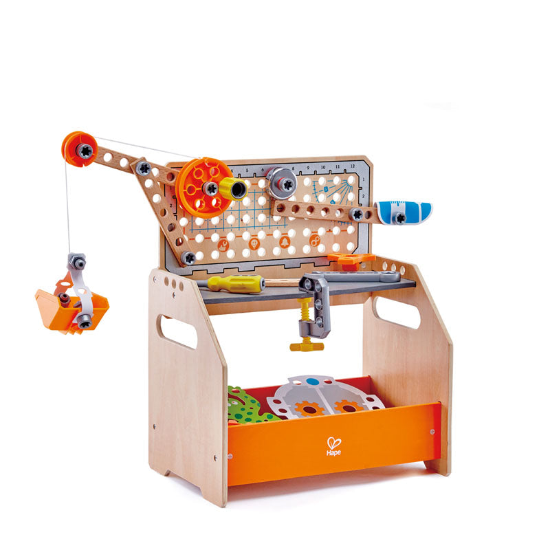 Hape junior inventor - werkbank scientific discovery workbench