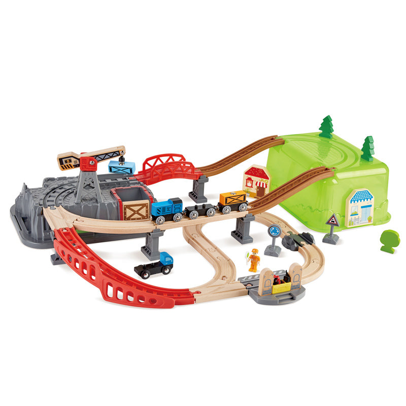 Hape trein Railway Bucket-Builder-Set